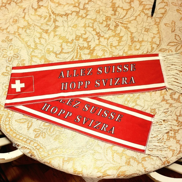Other - 🔥Swiss Scarf Swiss Flag French